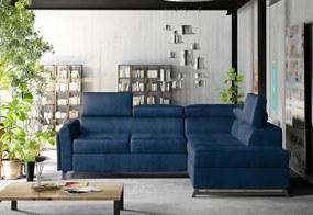 IKAROS ágyazható sarok ülőgarnitúra, 265x95x197, monolith 77, jobbos