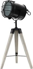 Design állólámpa MSK149BR - szürke (67x33 cm, kábel 150 cm, E27, MAX 40W) - modern stílusú