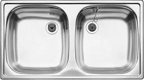 BLANCO TOP ED 8X4, két medencés mosogató tálca 501073