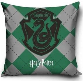 Harry Potter párnahuzat zöld 40x40cm