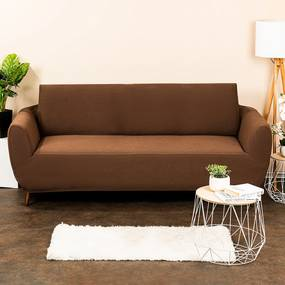 4Home Comfort Multielasztikus kanapéhuzat barna, 180 - 220 cm, 180 - 220 cm