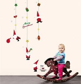 Ambiance Fathers Christmas Toys karácsonyi falmatrica - Ambiance