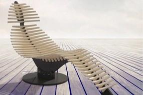 SKELETON design fekvőfotel