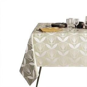 Floris bézs asztalterítő, 140 x 220 cm - AmeliaHome
