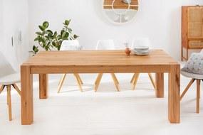 Stílusos étkezőasztal Plain 200 cm vad tölgy