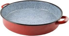 Retro piros szeletsütő 40 cm 53068