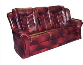COM-Columbia 3 személyes bőr kanapé