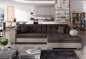 PALERMO ágyazható sarok ülőgarnitúra, 294x80x196 cm, jasmine 29/jasmine 22, jobbos