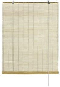 Bambusz redőny, natúr, 60 x 160 cm, 60 x 160 cm