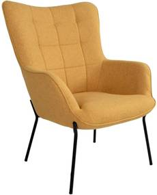 GLASGOW sárga fotel