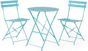 Retro kék kerti bútorgarnitúra - Le Bonom