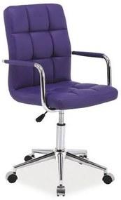 KEDE Q-022 gyerek szék, 51x87-97x40, lila öko bőr