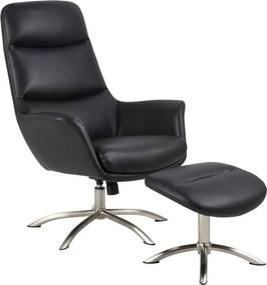 Ízléses relax fotel Niobe - fekete