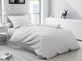 Lux fehér Gombos pamut ágyneműhuzat Ágynemű mérete: 70x90 cm; 140x220 cm