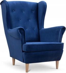 SD DEANA füles fotel - kék