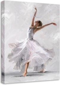 Canvas Waterdance Dancer II fali kép, 60 x 80 cm - Styler