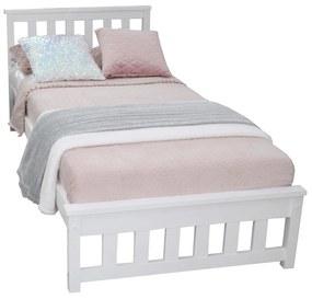 MD KEYLA egyszemélyes ágy 90x200 - fehér