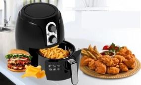 BigChef Air Fryer olaj nélküli fritőz +Ajándék Receptkönyv!