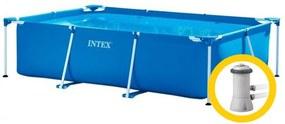 Intex Frame Family medence 2,6 x 1,6 x 0,65 m szűrőberendezéssel