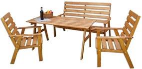 Kerti bútor készlet SYLVA - fenyőfa