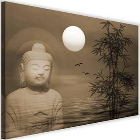 Modern kép 120x80cm – Buddha By The Sea At Sunset 4