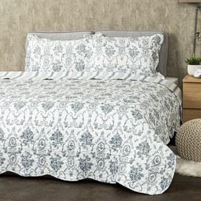 4Home Blue Patrones ágytakaró, 140 x 220 cm, 50 x 70 cm