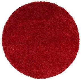 Aqua Liso piros szőnyeg, ø 100 cm - Universal