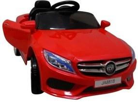Elektromos beülős cabrio sport autó gyerekeknek, piros