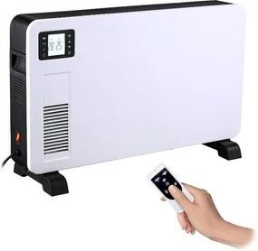 Solight Forrólevegős konvektor 1000/1300/2300W/230V LCD kijelző + távirányító SL0946