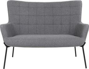 GLASGOW szürke kanapé