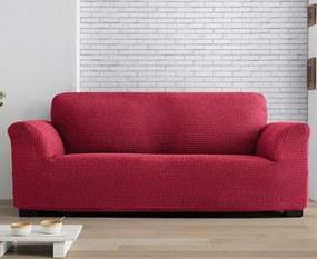 Milos kétszemélyes kanapéhuzat, piros 130-180 cm