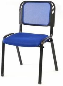 Rakásolható kongresszusi szék - kék