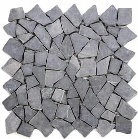 Mozaik burkolat DIVERO® 1db - márvány, szürke