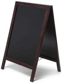 Jansen Display  A alakú krétás reklámtábla, sötétbarna%