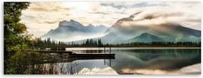 Lake vászonkép, 150 x 60 cm - Styler