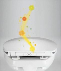 Kos WC-ülőke illatkapszulával, 44 x 37,5 cm - Wenko