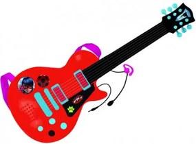 REIG Miraculous - Katicabogár és Fekete macska elektromos gitár mikrofonnal