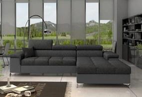 ORLANDO ágyazható sarok ülőgarnitúra, 280x90x205, inari 96/soft 29, jobbos