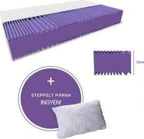 STANDARD hab matrac 90 x 200 cm Matracvédő: Matracvédő nélkül Steppelt párna 40 x 50 cm INGYEN