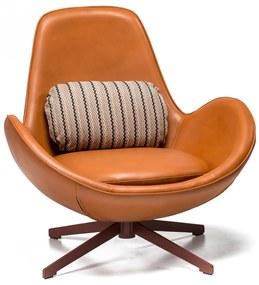 VICENZA modern fotel - barna