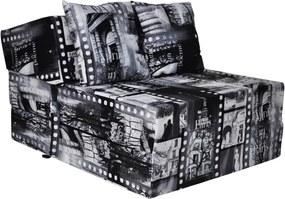 FI Összehajtható matrac 200x70x15 cm Szín: Párizs