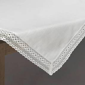 Karina csipkés asztalterítő Fehér 85 x 85 cm - HS324712