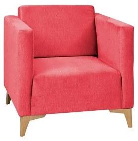 RUBIN kárpitozott fotel, 76x73,5x82 cm, sudan 2711