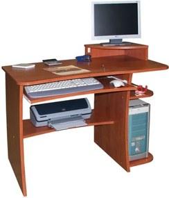 Tom számítógépasztal monitortartóval