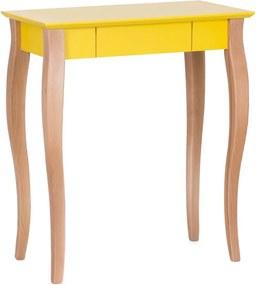 Lillo sárga íróasztal, szélesség 65 cm - Ragaba