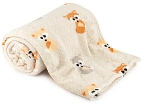 4Home Soft Dreams Little Fox takaró, 150 x 200 cm