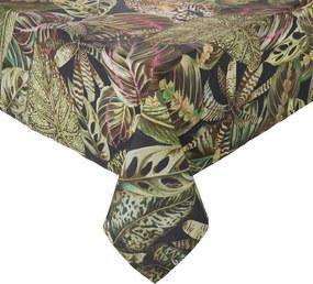ESCAPE pamut asztalterítő, dzsungel 300x150 cm