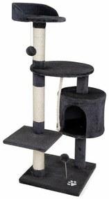 Macskafa - kaparóoszlop macskáknak (magasság 112 cm) - Szürke