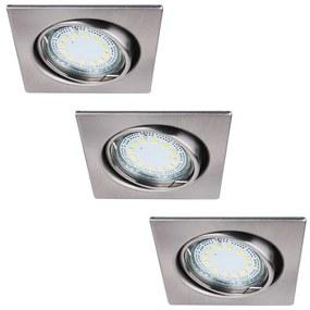 Rabalux Rabalux 1057 - KÉSZLET 3xLED Beépíthető lámpa 3xGU10-LED/3W/230V RL1057