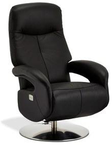 Elektromos relax fotel Abdiel fekete